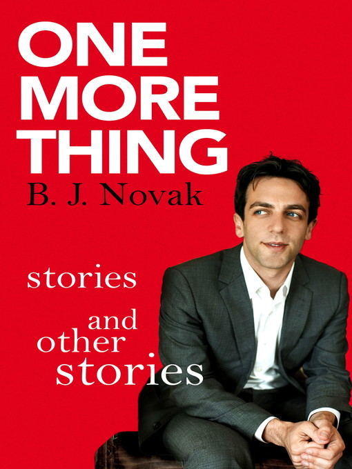 One More Thing (eBook): Stories and Other Stories