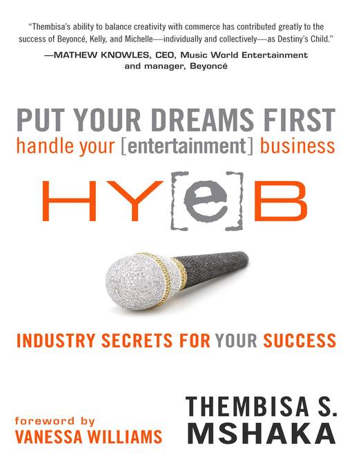 Put Your Dreams First (eBook): Handle Your [entertainment] Business