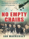No Empty Chairs (eBook): The Young Aviators of the Great War in Their Own Words