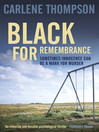 Black for Remembrance (eBook)