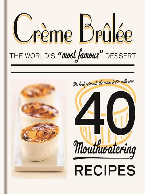 Crème Brûlée (eBook)