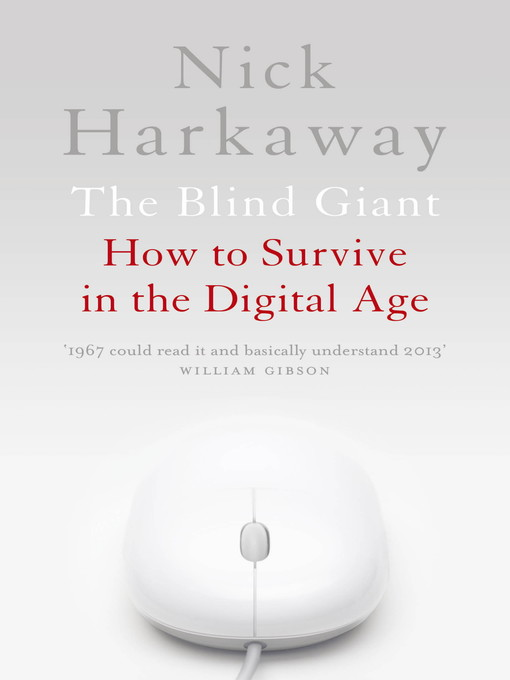 The Blind Giant (eBook): Being Human in a Digital World