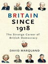 Britain Since 1918 (eBook)