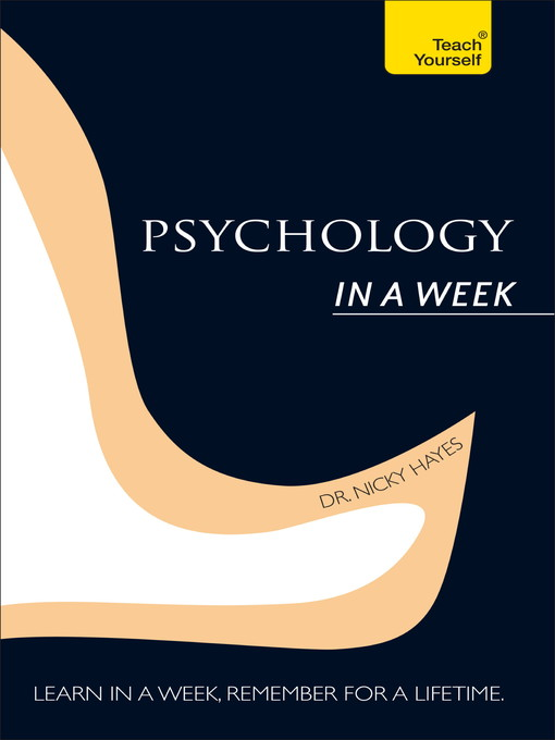 Psychology in a Week (eBook)