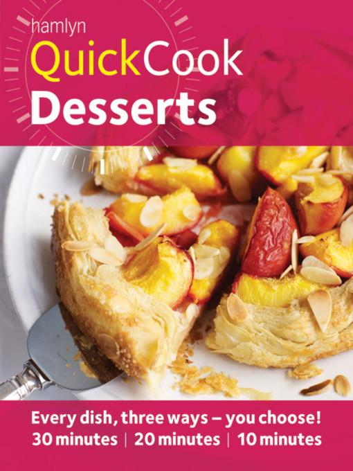 Desserts (eBook)