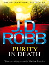 Purity in Death (eBook): In Death Series, Book 17