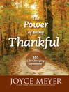 The Power of Being Thankful (eBook): 365 Life Changing Devotions