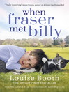 When Fraser Met Billy (eBook): How The Love Of A Cat Transformed My Little Boy's Life