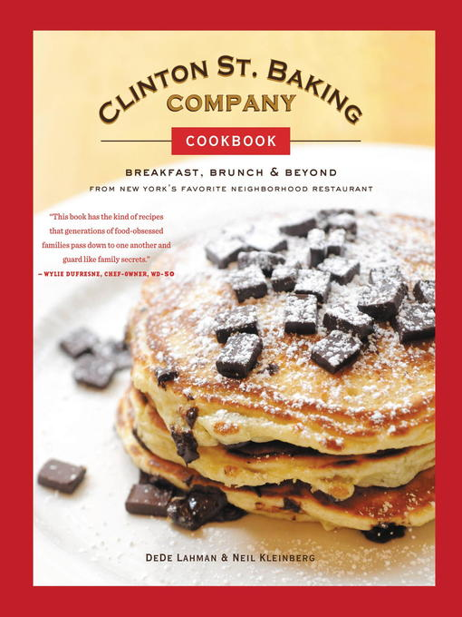 Clinton St. Baking Company Cookbook (eBook): Breakfast, Brunch & Beyond from New York's Favorite Neighborhood Restaurant