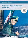 Access to History (eBook): Italy: The Rise of Fascism 1915-1945