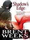 Shadow's Edge (eBook): Night Angel Trilogy, Book 2