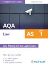 AQA Law AS Student Unit Guide (eBook): Unit 1 Law Making and the Legal System