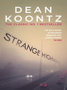 Strange Highways (eBook)