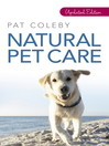 Natural Pet Care (eBook)
