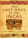 The Last Days of the Incas (eBook)