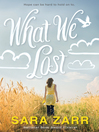 What We Lost (eBook)
