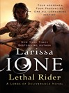 Lethal Rider (eBook): Lords of Deliverance Series, Book 3