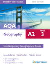 AQA A2 Geography Student Unit Guide (eBook): Unit 3 Contemporary Geographical Issues