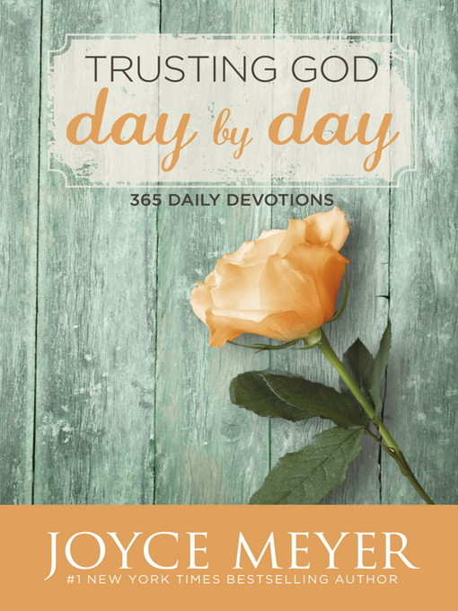 Trusting God Day by Day (eBook): 365 Daily Devotions