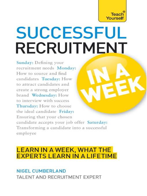 Successful Recruitment in a Week (eBook)