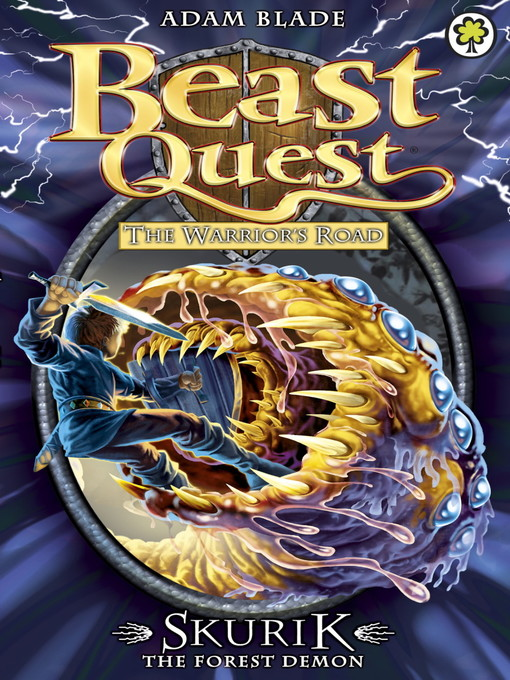 Skurik the Forest Demon (eBook): Beast Quest: The Warrior's Road Series, Book 1