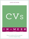 Successful CVs in a Week (eBook)