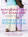 Marshmallows for Breakfast (eBook)