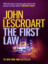 The First Law (eBook): Dismas Hardy Series, Book 9
