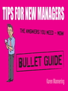 Tips for New Managers (eBook)