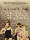Every Secret Thing (eBook): My Family, My Country