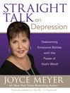 Straight Talk on Depression (eBook): Overcoming Emotional Battles with the Power of God's Word!