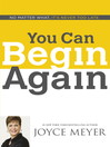 You Can Begin Again (eBook)