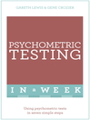 Successful Psychometric Testing in a Week (eBook)