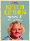 Little Keith Lemon (eBook): Memoirs of me Childhood