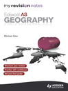 Edexcel AS Geography ePub (eBook)