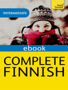 Complete Finnish (Learn Finnish with Teach Yourself) (eBook)