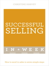 Successful Selling in a Week (eBook)