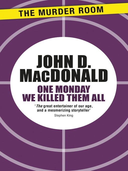 One Monday We Killed Them All (eBook)