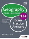 Geography for Common Entrance 13+ Exam Practice Answers (eBook)
