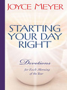 Starting Your Day Right (eBook): Devotions for Each Morning of the Year