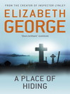 A Place of Hiding (eBook): Inspector Lynley Series, Book 12