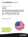 Edexcel A2: US Government & Politics (eBook): My Revision Notes