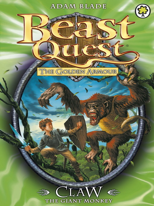 Claw the Giant Monkey (eBook): Beast Quest: The Golden Armour Series, Book 2