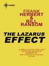 The Lazarus Effect (eBook): Pandora Sequence Book 3