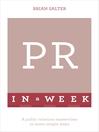 Successful Public Relations in a Week (eBook)