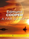 A Far Sunset (eBook)