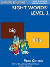 Sight Words Plus Level 1 (eBook): Sight Words Flash Cards with Critters for Pre-Kindergarten & Up