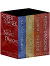 In the Service of Dragons Bundle (eBook): A Clash of Heroes, A Dance of Swords, A Storm of Shields, A Reign of Dragons