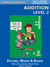 Addition Level 2 (eBook): Pictures, Words & Review