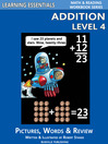 Addition Level 4 (eBook): Pictures, Words & Review